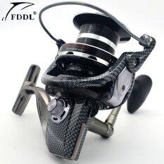 Fddl 9000 Full Metal Spool JIGGING Trolling Casting Tembakan Panjang untuk Carp dan Air Laut Berselancar Berputar Laut Besar Reel Pancing