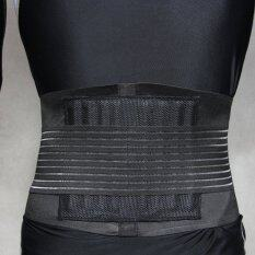 Ffy Stabilizing Lumbar Lower Back Brace And Support Belt With Dual Protection Belt Adjustable Straps And Breathable Mesh Panels Size L By Shen Zhen Fanzemst Technology Co Ltd