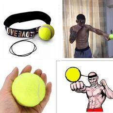 Hình ảnh Hiqueen Fight Elastic Ball with Head Band for Reaction Speed Training Boxing Punch Exercise