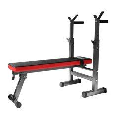 Foldable Space Save Gym Dumbell Multifunction Weightlifting Barbell Bench By Hnz Best.