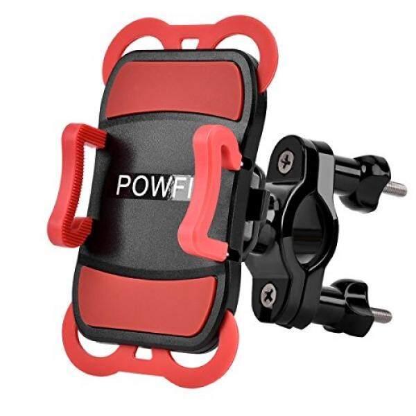 [. Amerika Serikat] Powfit Sepeda Telepon Dudukan Sepeda Penahan Motor Ponsel Penyangga Universal Sepeda Ponsel Pintar Penahan Cradle dengan 360 derajat Rotasi, pegangan Karet untuk iPhone & Ponsel Pintar Android B072Q1WJ4F-Internasional