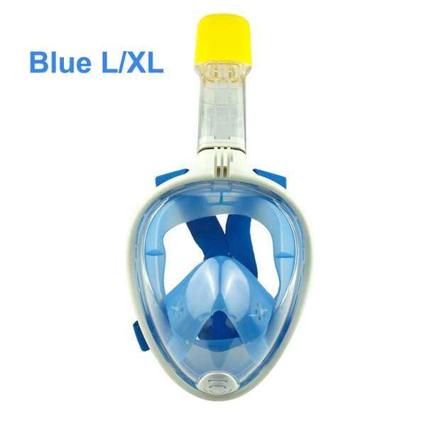 AnyCare Full Face Mask Set Detachable Dry Anti Fog Snorkeling Scuba Diving Mask 4 Colors