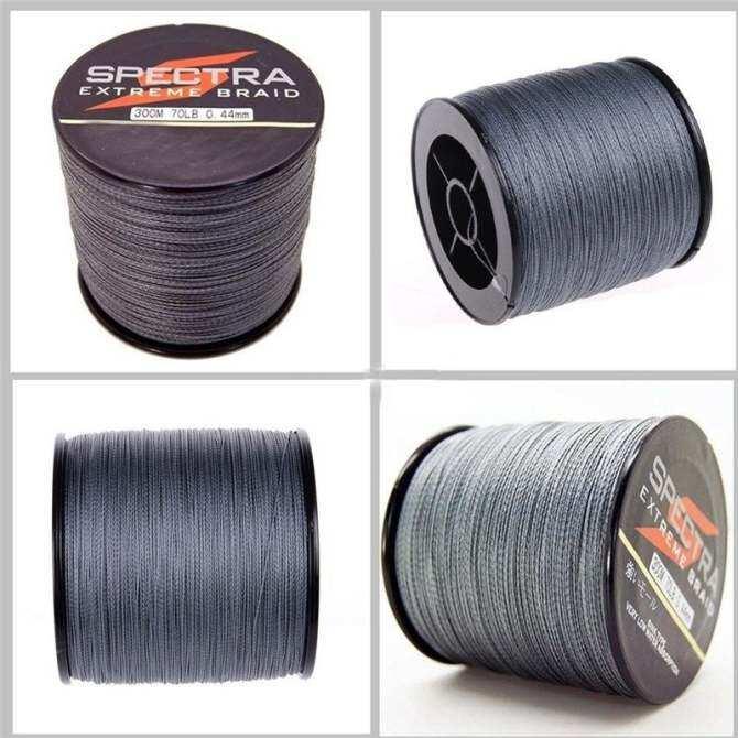 ... JinGle 500M Spectra Extreme PE Braided Sea Fishing Line 0.25mm (Silver) ...