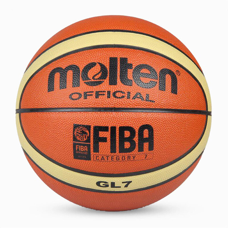 Gl7 Basketball Ball Pu Materia Official Size7 Basketball Free With Net Bag+ Needle By Ranki Store.