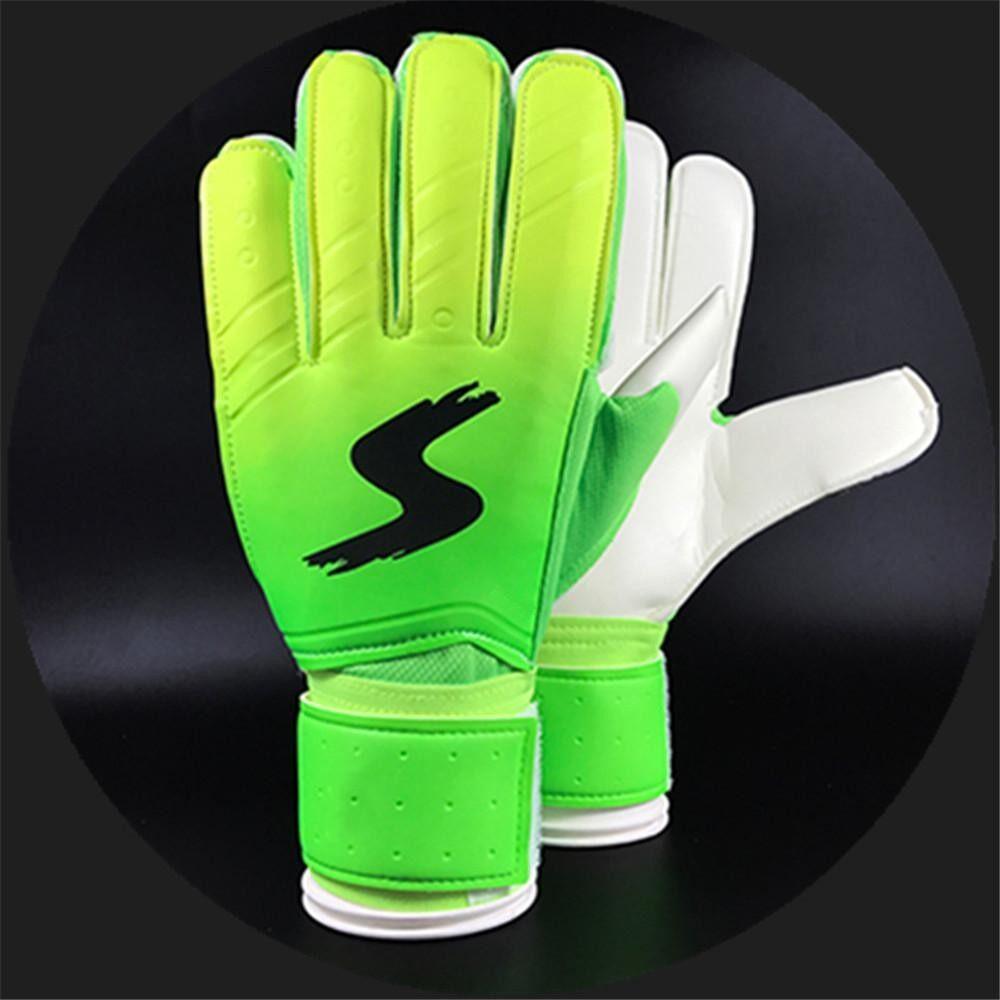 Kiper Goalie Keeper Sarung Tangan Gulungan Jari Sepak Bola Goalie Sarung Tangan Sepak Bola Hadiah-Internasional