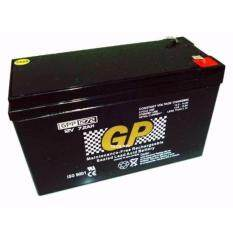 Gp 12v 7.2 Ah Premium Rechargeable Sealed Lead Acid Battery For Electric Scooter/toys Car / Bike By Ta Trading.