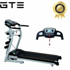 Gte Multi-Function Motorized Folding Treadmill Running Machine With Massage Machine + (free) Universal Plug (nw-8206) - Fulfilled By Gte Shop By Gte Shop.