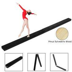 Gymnastics Floor Gym Balance Beam Skill Performance Training New Brown By Audew.