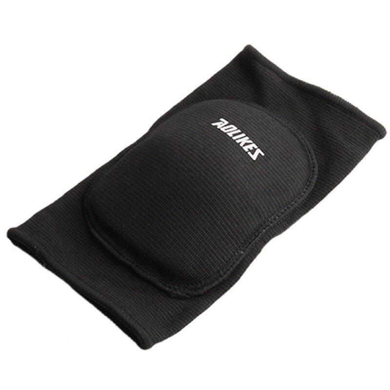 Hình ảnh HengSong Adult Knee Pads Guard Sports Kneepads Protector Black - intl