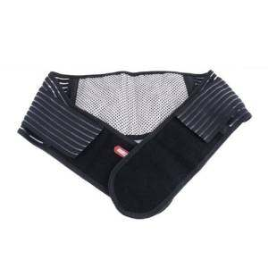 Hình thu nhỏ High Quality Double Pull Heat Therapy Adjustable Waist Elastic Beltlumbar Back Brace Support (Black) - intl