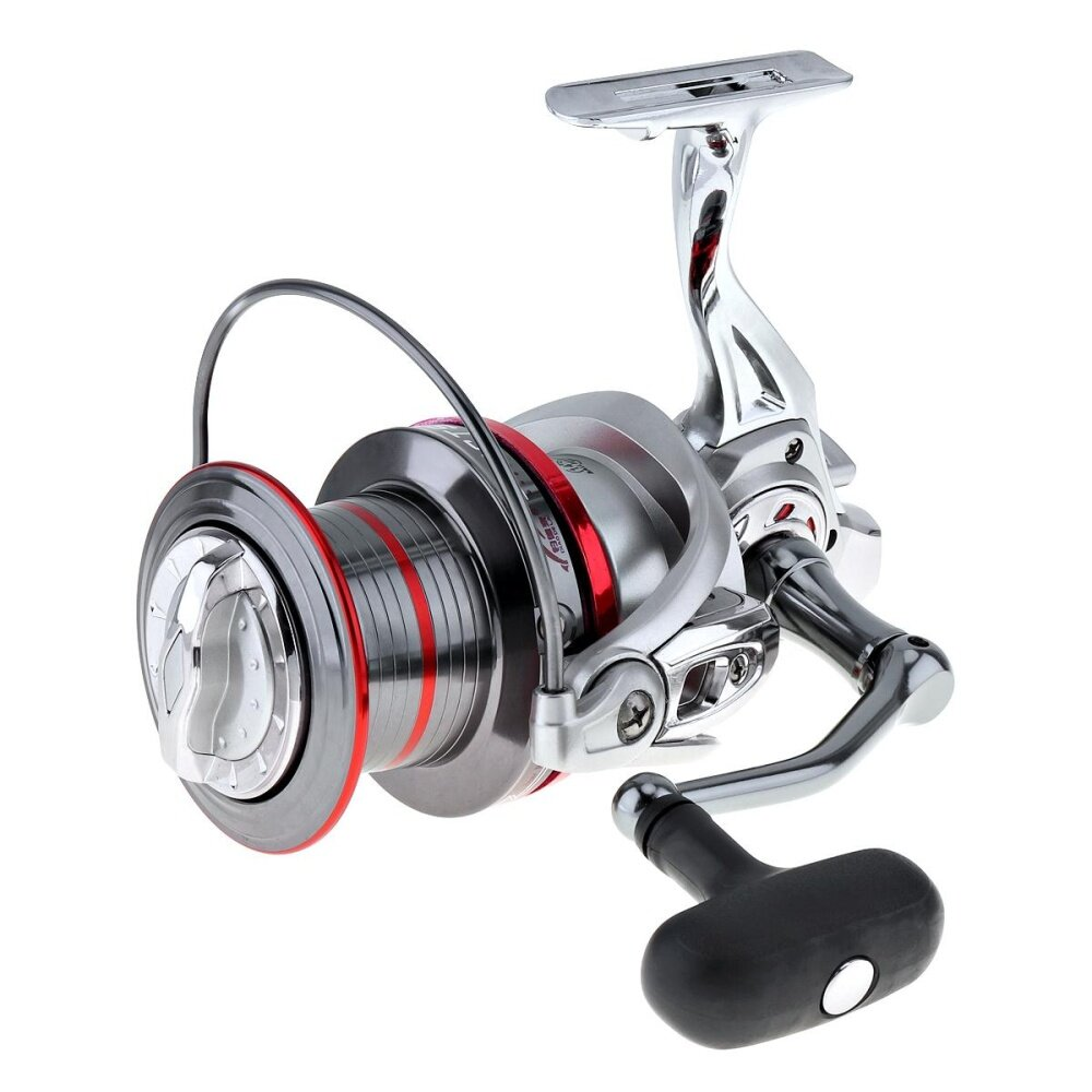 12000 Series 14+1 Ball Bearing Full Metal Spinning Fishing Reel Long Distance Surfcasting Wheel with Larger Spool () - intl