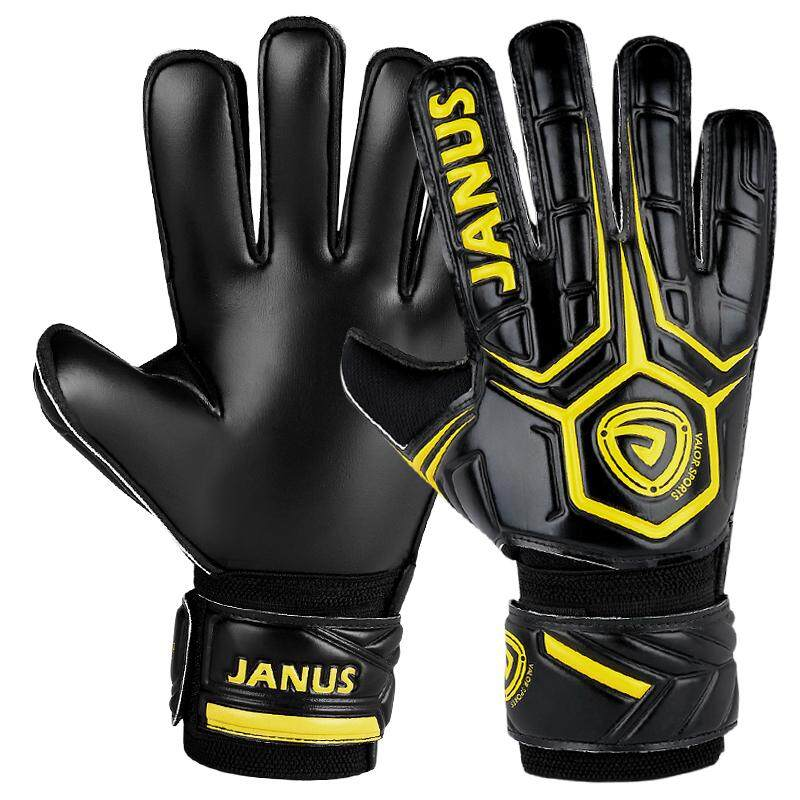 High Quality Soccer Goalkeeper Gloves Professional Football Goalie Gloves  Goal keeper Gloves Finger Protection Thickened Latex b2ee392d3b