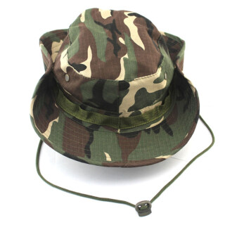 Hiking Snap Brim Military Bucket Sun Cap - intl thumbnail