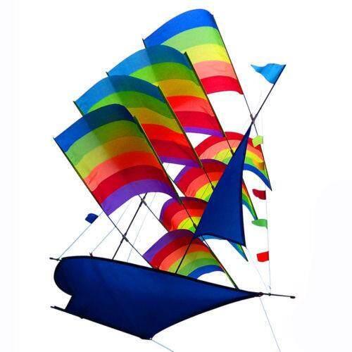 ใหญ่ 3d สายรุ้งเรือใบ Flying ว่าวกีฬากลางแจ้งเด็กเกมกิจกรรม - นานาชาติ By Teamwin.