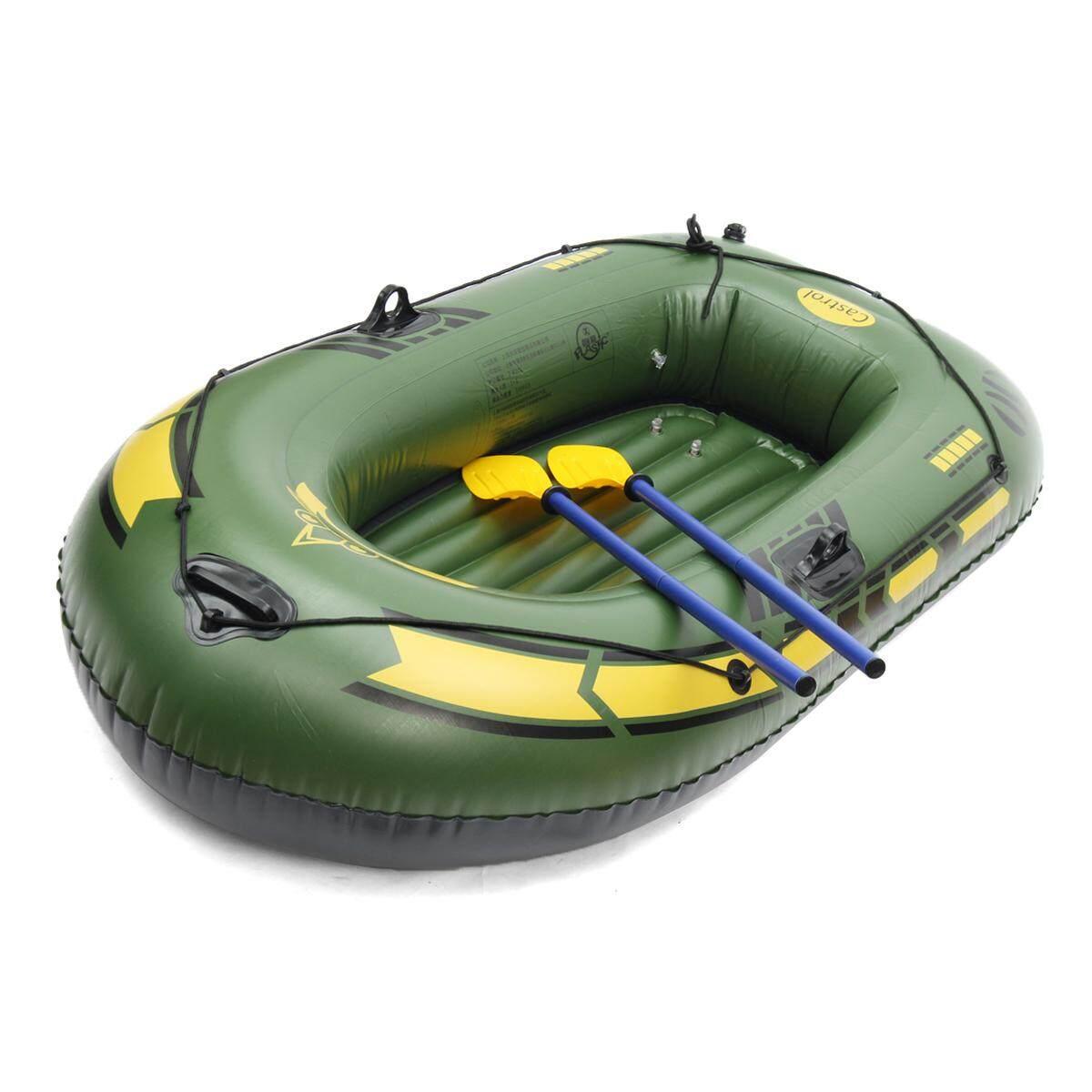Kapal Dapat Digelembungkan 2 Orang Olahraga Air Memancing Di Sungai Tender Dinghy Set Rakit Kami (2 Orang 190 Cm X 110 Cm)-Intl By Teamtop.