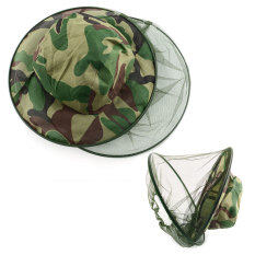 Insect Mosquito Net Mesh Face Fishing Hunting Outdoor Camping Hat Protector Cap By Bokeda Store.