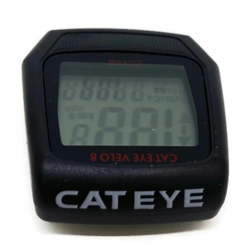 Japan CATEYE Velo 8 Cycling Wire Speedometer ComputerBicycleBikeMTB - intl