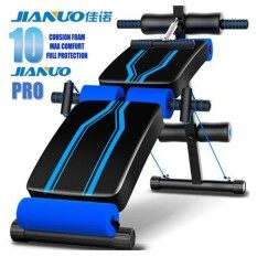 Jianuo Luxury Fitness Gym Sit Up Bench Six Pack Abs Workout Bench (10 Cushion Foam) By Cs Mall.