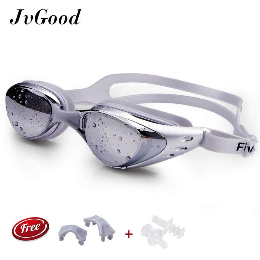 Mirrored Seal Swimming Goggles Diving Glasses With 100% U.V. Protection, Anti-Fog,