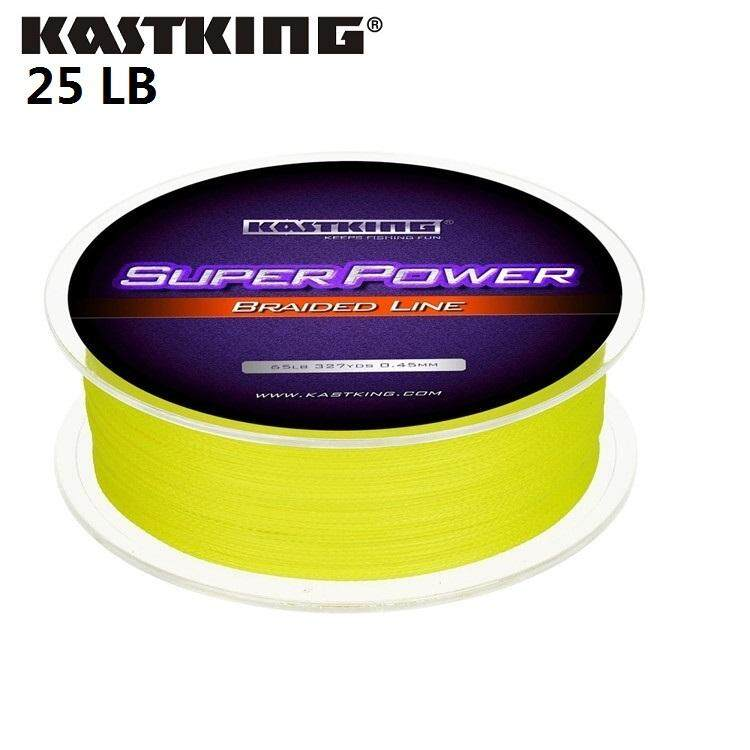 Kastking 100 Original Brand Yellow 300M 4 Stands Pe Braided Fishing Line 10 80Lb Multifilament Fishing Line For Carp Fishing Wire For All Fishing Intl Sale