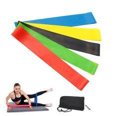 67e491f9f287 Kobwa Yoga Resistance Band Resistance Loop Exercise Bands Set Of 5 For Legs  And Butt With