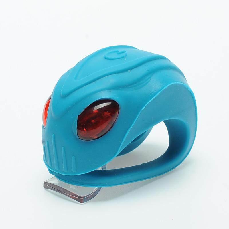 Leadbike Yg Tahan Hujan Lampu Sepeda LED Sepeda Keselamatan Lampu Peringatan Bersepeda Depan Belakang Ekor Helm Lampu Merah-Intl