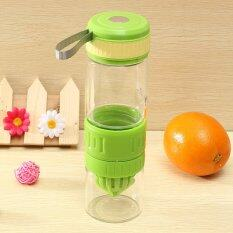 Lemon Citrus Lime Cup Glass Vigor Citrus Fruit Press Water Juicer Bottle 2 Color By Freebang.