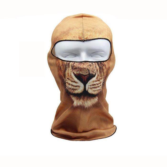 Lion Pattern Ski Face Mask Motorcycle Bicycle Football Outdoor Sport - intl