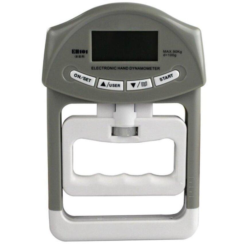 Huade 90Kg/198Ib LCD Digital Dynamometer Pegangan Tangan Power Measurementstrength Meter Mucle Pengembang untuk Gym Bangunan Tubuh Latihan-Intl