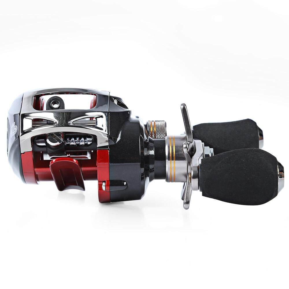 3 Color LMA200 11BB Left Hand Baitcasting Reel River Ocean Boat Gear (Black,Red,White) | Lazada