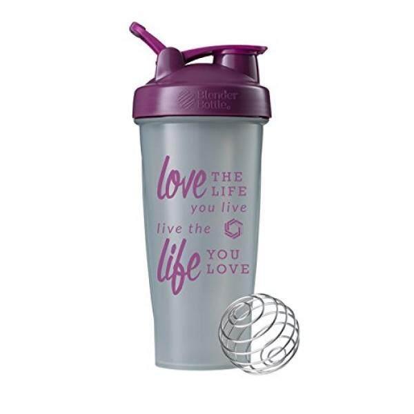Kehidupan Percintaan Botol Blender Gelas Kocok 28 Klasik Oz Botol Blender (Pebble/Plum-28 Oz)-Intl