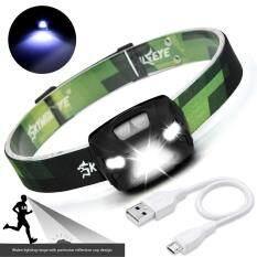 Malloryshop 3000lumen Xpe Led Ir Sensor Headlamp Usb Camping Hiking Headlight By Malloryshop.