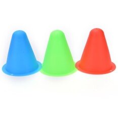 Giá bán Mark Cup Skateboard Football Soccer Rugby Speed Fitness Equipment Drill 5pcs Space Marker Cones Slalom For Inline Roller Skating