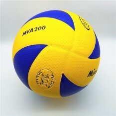Mikasa volleyball MVA200 2016 Rio Olympic Game Ball (Blue Yellow) Official  Match Volleyball d797b1cc73