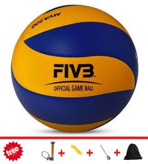 Mikasa volleyball MVA200 2016 Rio Olympic Game Ball Official Match Volleyball wholesale + dropshipping Soft Touch PU Volleyball Size 5 match quality Volleyball Indoor & Outdoor Training ball Match volleyball Beach Volleyball free gift - intl thumbnail