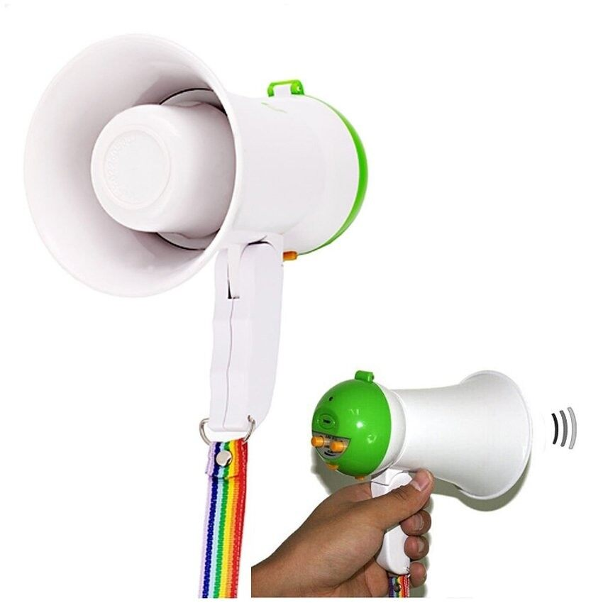 Mini Portable Handheld Megaphone Foldable 5w Speaker Bullhorn Voiceamplifier By Through The World.