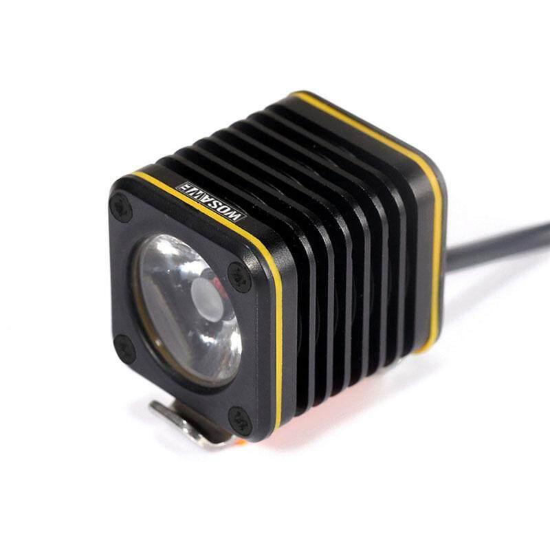 Mini USB Rechargeable Square Front Bike Light XM-L T6 4 Modes LED Bicycle Cycling Headlight Alumium