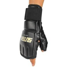 MMA Muay Thai Training Punching Bag Mitts Sparring Boxing Gloves Gym
