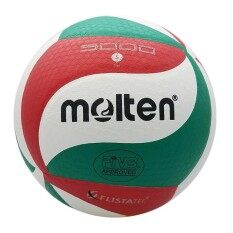 Molten Official Norceca V5m5000 Volleyball School Training Volleyball Ball Wholesale + Dropshipping Soft Touch Pu Volleyball Size 5 Match Quality Volleyball Indoor & Outdoor Training Ball Match Volleyball Beach Volleyball By Ez2shop.