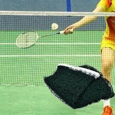 Moonar 6.1mX 0.76m Portable Standard Braided Badminton Net (Green)