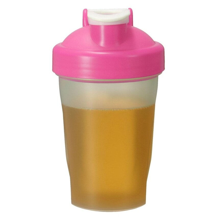 Mengguncang Botol Cangkir Source · 600 ml Smart Gym Protein Shake pengocok Mixer .