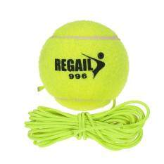 Natural Rubber Synthetic Wool Fiber Tennis Ball Dog Training Tennis Ball With String By Tdigitals.