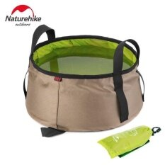 Naturehike 10l Water Washbasin Ultralight Portable Outdoor Nylon Folding Wash Bag Foot Bath Camping Equipment Travel Kits By Mubai Trading.