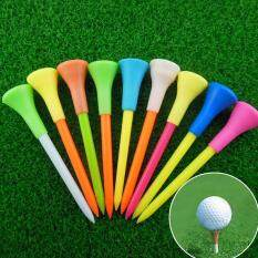 New 50pcs 85mm Plastic Golf Tees Golf Rubber Cushion Top Equipment Accessories By Maiyuesi.