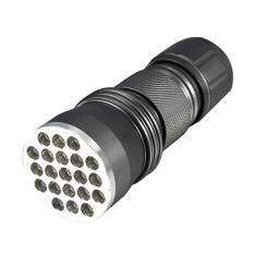 New Aluminum 21 Uv Flashlight Ultra Violet Light By Rainbowonline.