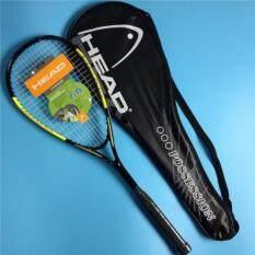 New Composite Carbon Unisex Squash Racket For Rackets Sporttraining Squash Racquet (yellow Black)  By Senya.