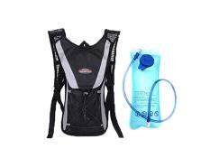 Niceeshop Hydration Rucksack Backpack Climbing Pouch With Water Bladder Bag(black) By Nicee Shop.