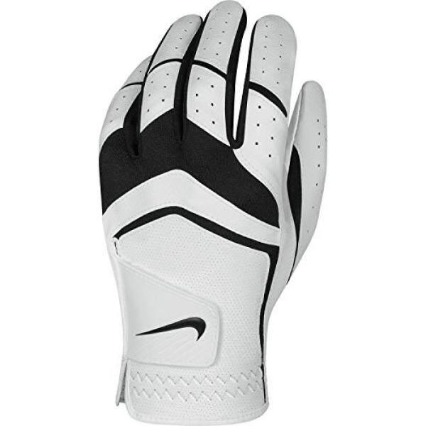 Nike Mens Dura Feel Golf Glove (White), Small, Left Hand - intl