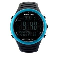 North Edge Digital Watches Men Sport Watch With Weather Forecast Altimeter Barometer Thermometer Altitude For Climbing Hiking Fishing Outdoor Sports By Longwings.