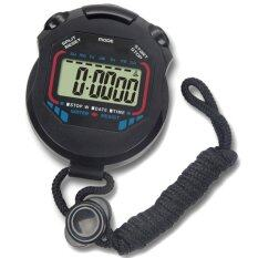 Odometer Stopwatch Stop Watch Lcd Counter Digital Chronograph Sports Timer Pedometer By Fairtopstore.
